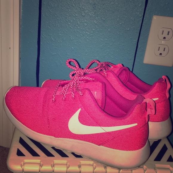 Nike Shoes   Bright Pink Nikes   Poshmark